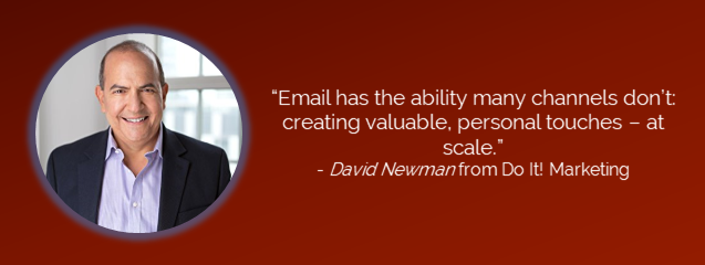 Email Marketing David Newman's Quote