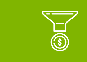 Sales Funnel Template Icon