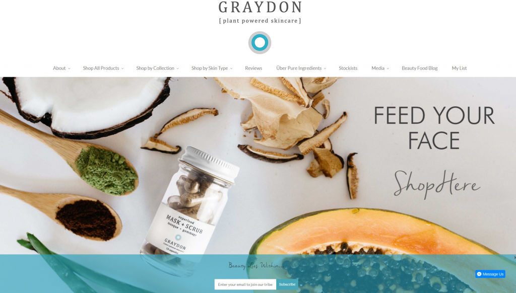 Graydon Shopify Website