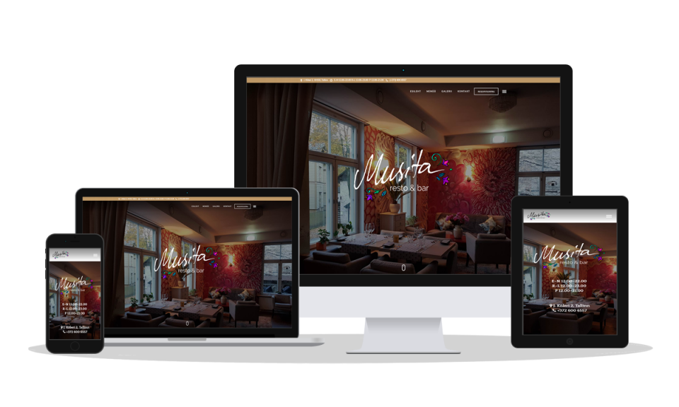 Responsive Website Design_Musu Restaurant Example